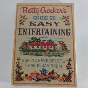 1959 Betty Crocker's Guide to Easy Entertaining,